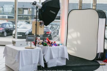 Typischer Fotobox Aufbau von Fotobox(en) Bremen