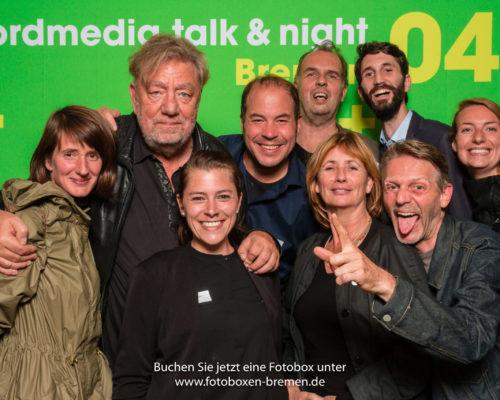 Fotobox auf einer Veranstaltung in Bremen