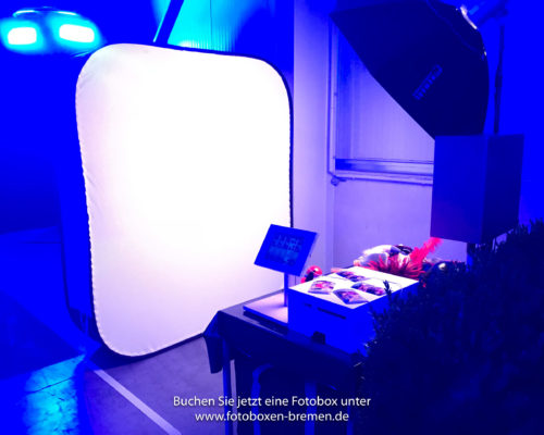 Fotobox für ein Firmenjubiläum