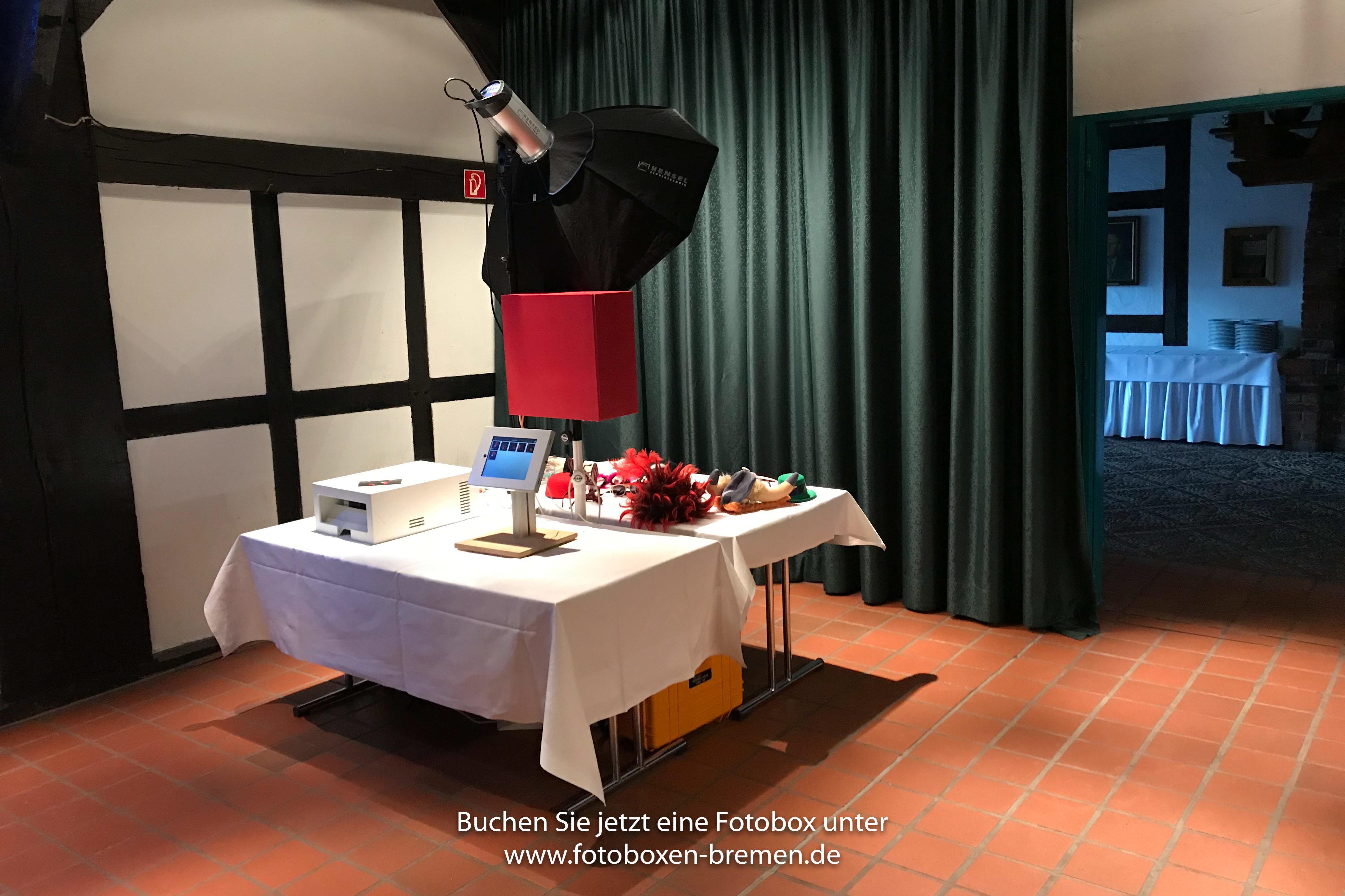 Fotobox für Hochzeitsfeier Lür-Kropp-Hof Bremen