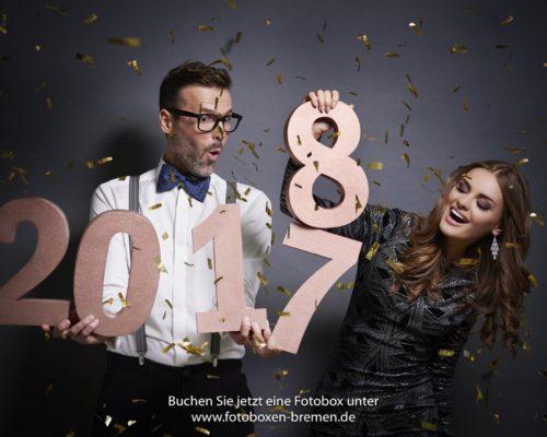 Fotobox für die Silvesterfeier in Bremen