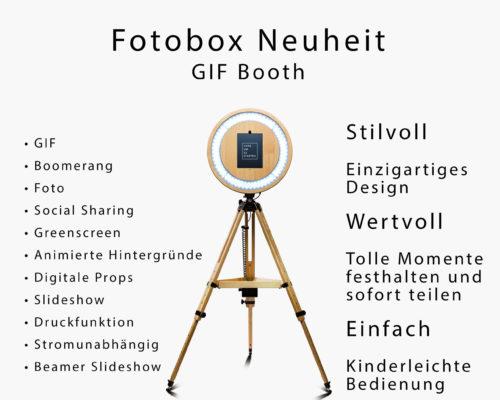 GIF Booth – die Fotobox Neuheit