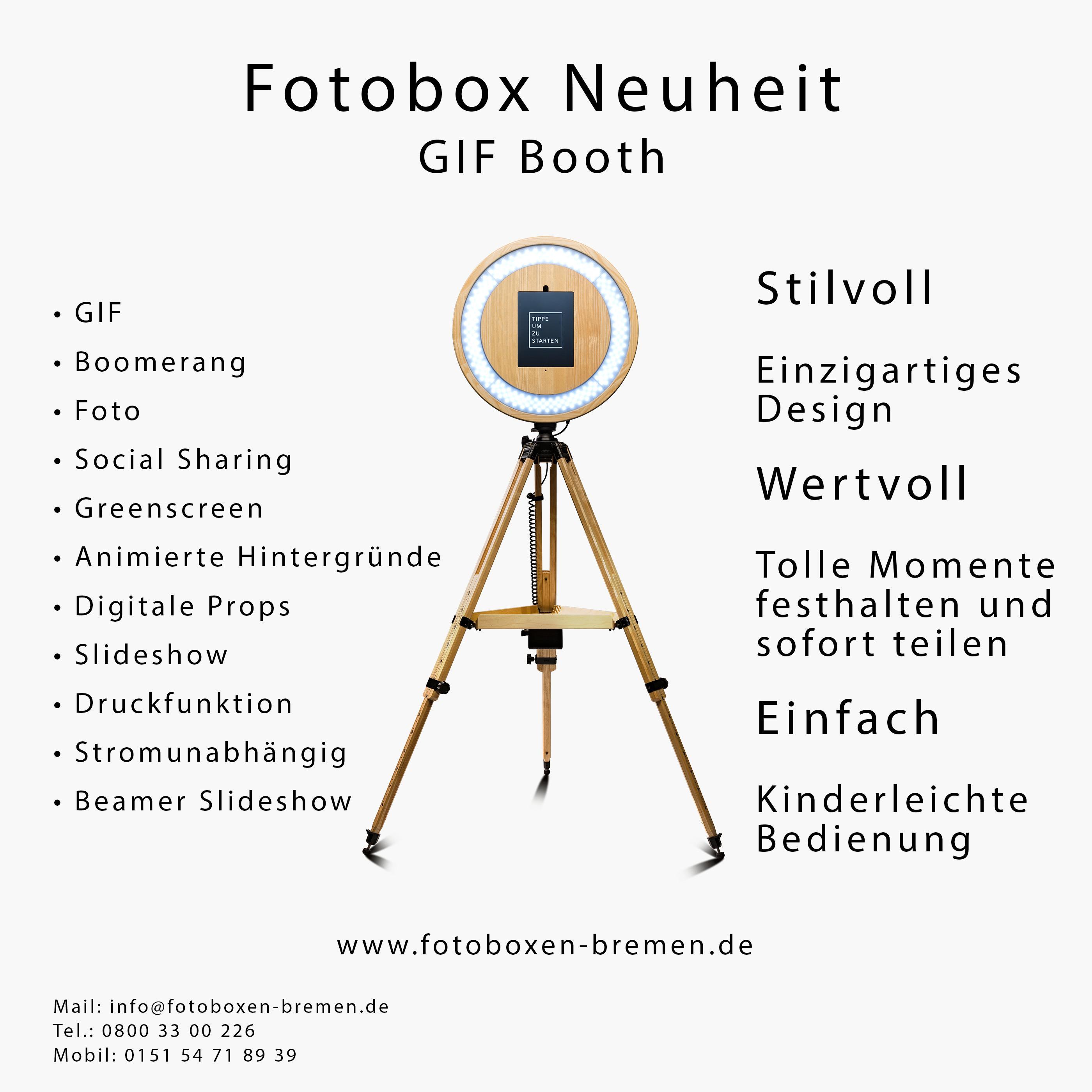 GIF Booth Fotobox