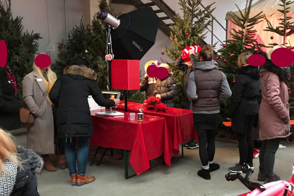 fotobox weihnachtsfeier stuhr 1024x682 - Fotobox Bremen mieten