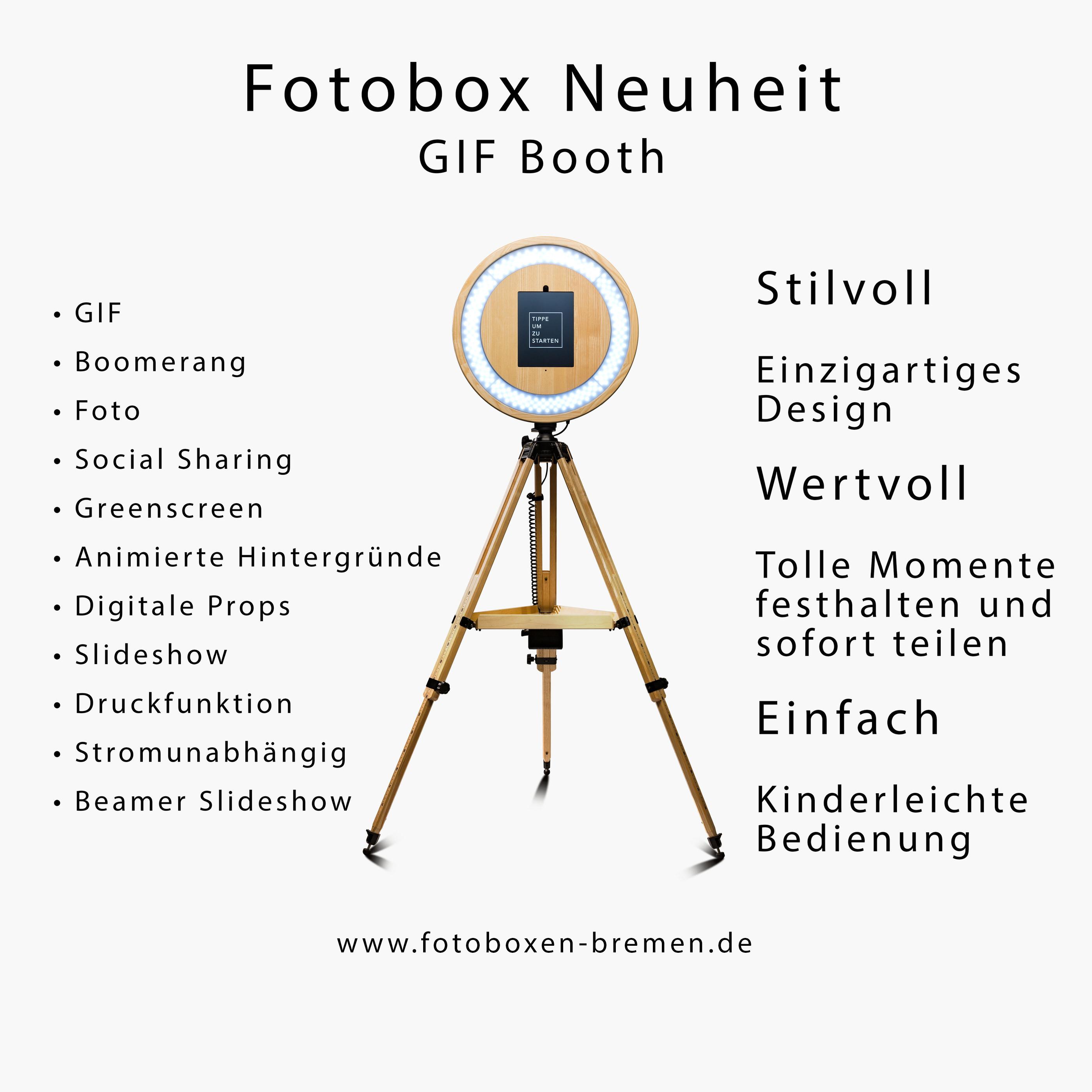 gif booth weihnachtsfeier - Fotobox Bremen mieten