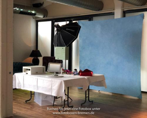 Fotobox im Hudson Eventloft Bremen