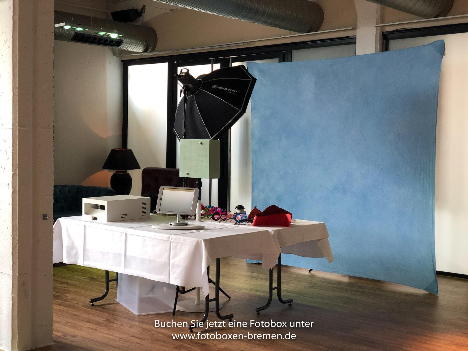 Fotbox Bremen im Hudson Eventloft mieten