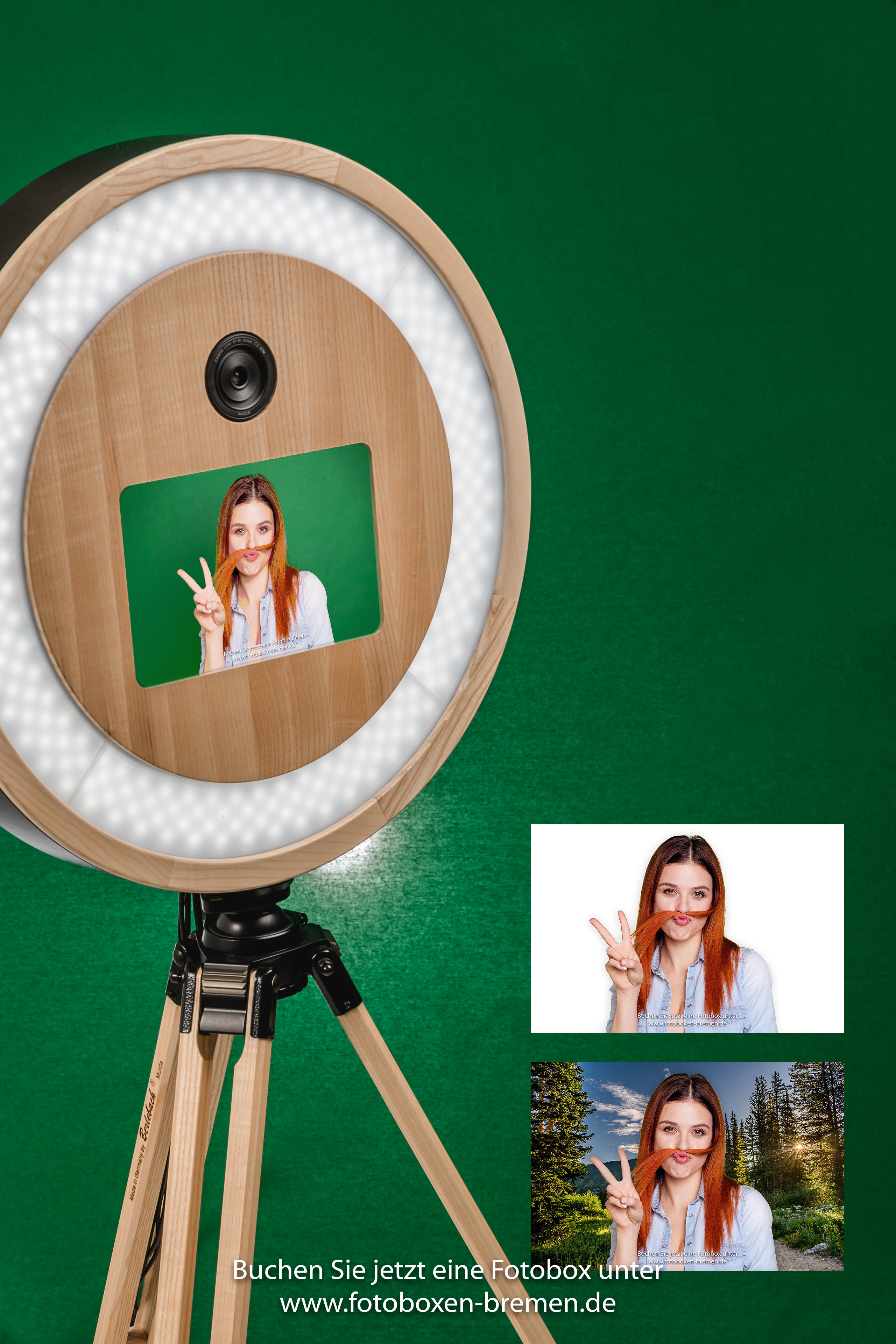 Greenscreen Fotobox Bremen