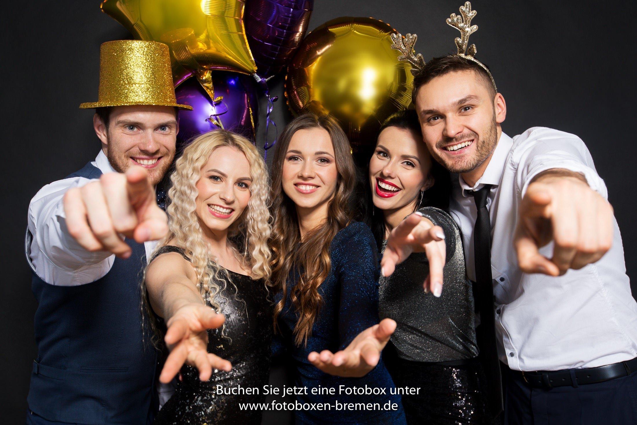 Fotobox Bremen Gruppenfoto