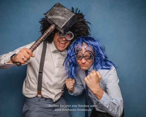 Fotobox auf einer Hochzeit in Bremen
