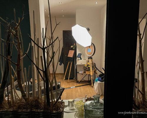 Fotobox Emma am See Bremen – obere Etage