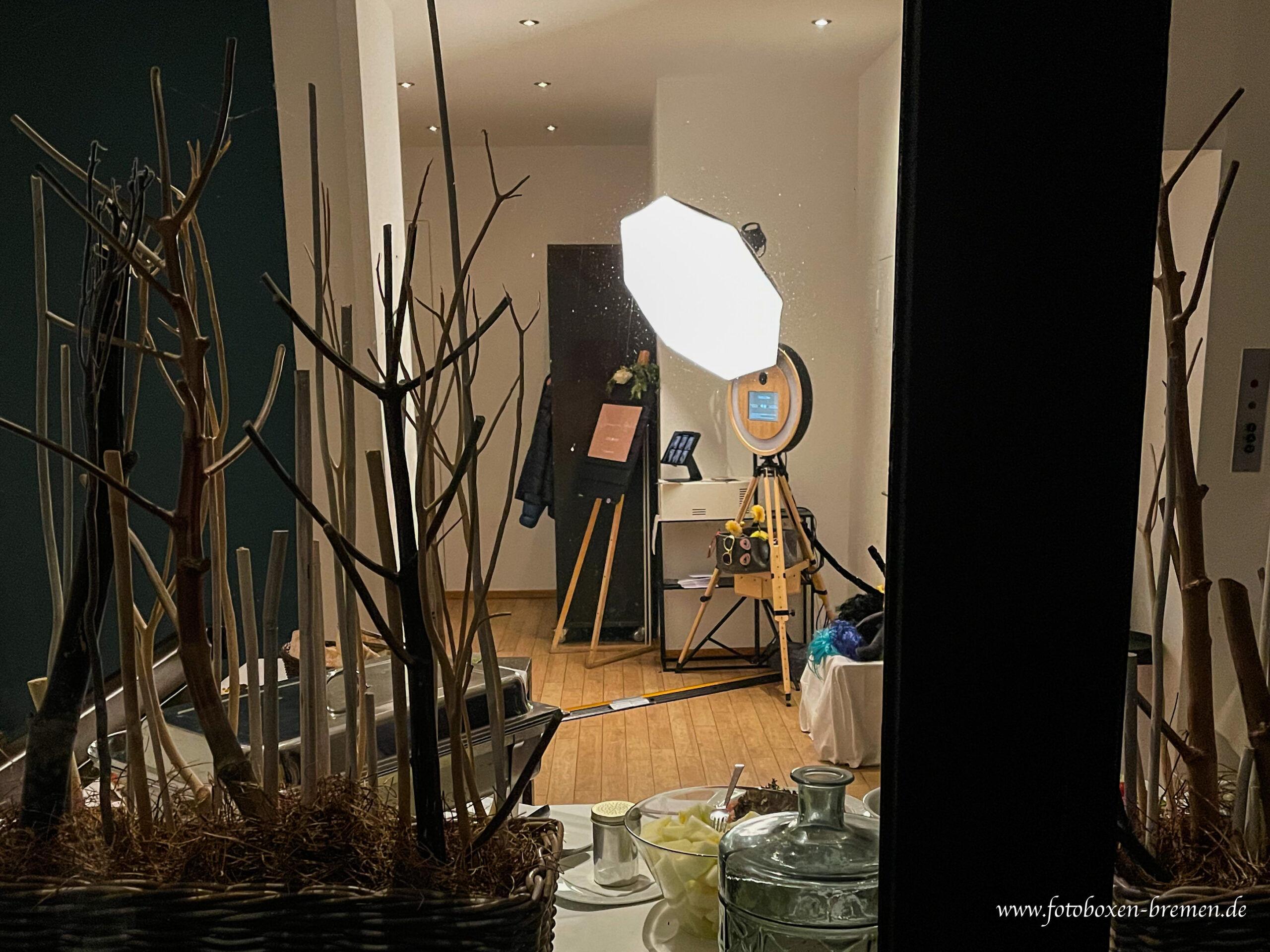 Fotobox Bremen - Emma am See